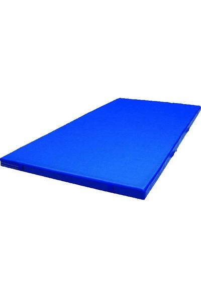 Mobilyapı mavi Jimnastik Minderi 100X200X3 Cm Sert Sünger