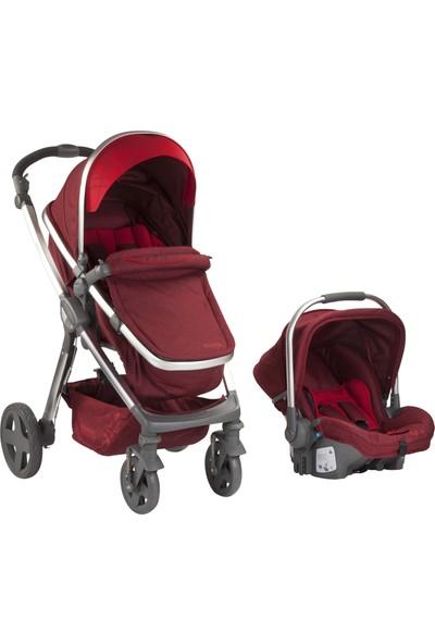 Kraft Switch Travel Bebek Arabası - Kırmızı