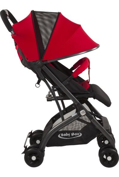 Babymax Leaf Bebek Arabası / Kırmızı