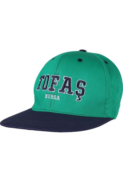 Tofaş Yeşil Şapka Tfs001-300 Hiphop Sapka Yesil