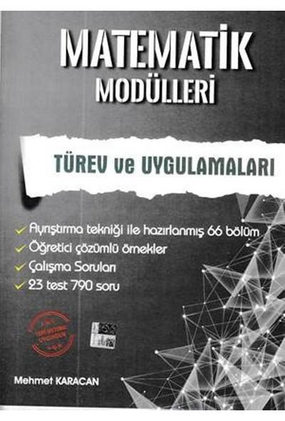 Artınet Matematik Modülleri -Türev Ve Uygulamaları - Mehmet Karacan