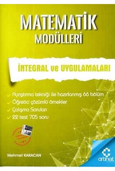 Artınet Matematik Modülleri - İntegral Ve Uygulamaları - Mehmet Karacan