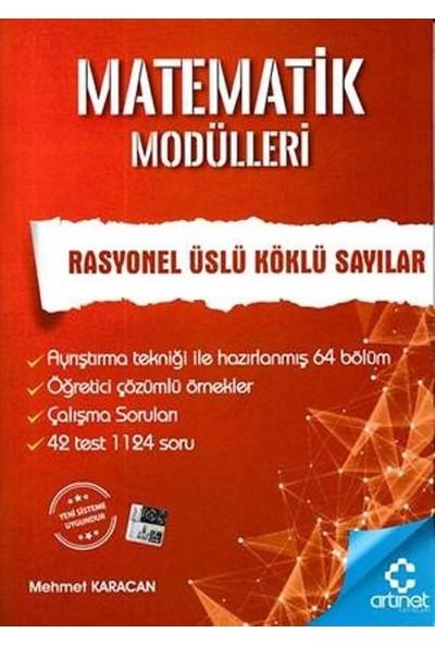 Artınet Matematik Modülleri - Rasyonel Üslü Köklü Sayılar - Mehmet Karacan