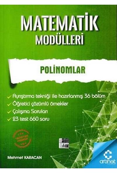Artınet Matematik Modülleri - Polinomlar - Mehmet Karacan