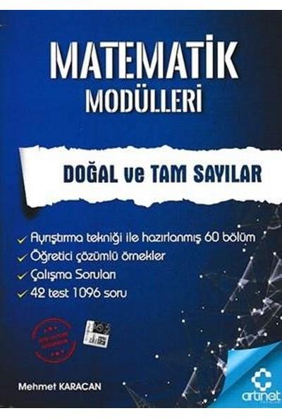 Artınet Matematik Modülleri - Doğal Ve Tam Sayılar - Mehmet Karacan