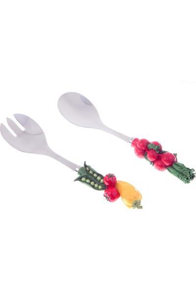 Kancaev Salata Servis Seti, Bezelye-Kırmızı Turp