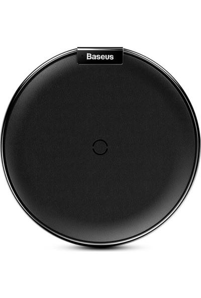 Baseus Apple iPhone X Deri Hızlı Kablosuz Wireless Şarj Cihazı
