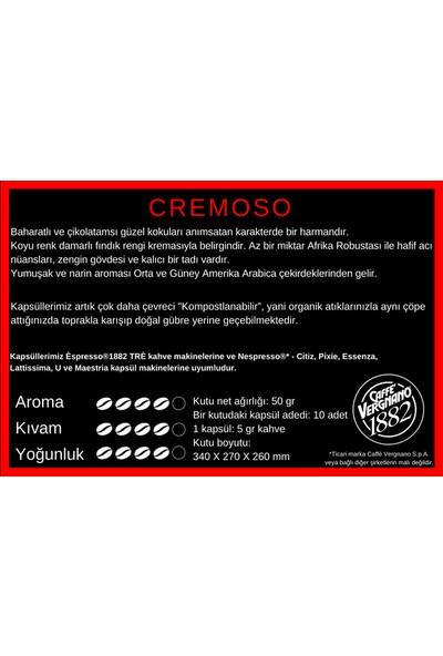 Caffe Vergnano Espresso®1882 Cremoso 10 Kapsül