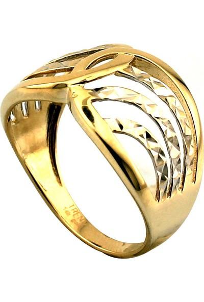 Kuyumcunuz Lazerli Taşsız Altın Yüzük (14 Ayar)