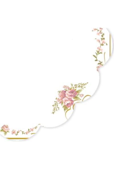 Madame Coco Çiçek Desenli Peçete