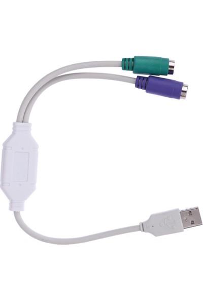 Azemax Usb To PS2 Kablolu Çevirici Adaptör