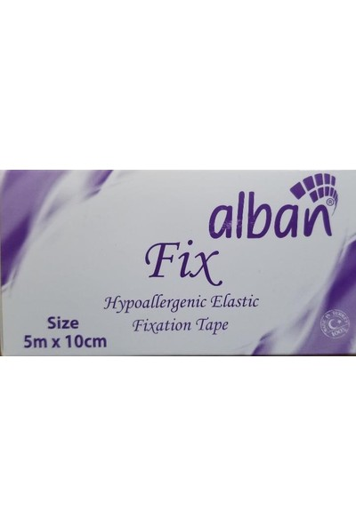Alban Fix 5x10 Hipoalerjenik Elastik Sabitleme Bandı