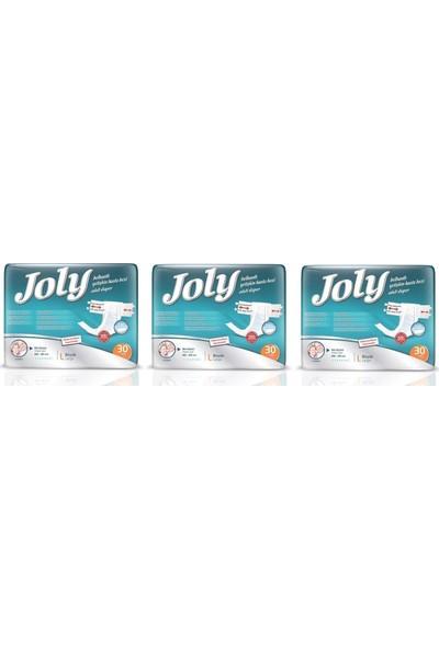 Joly Belbantlı Hasta Bezi 90 Adet Büyük Large