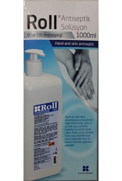 ROLL Antiseptik Solüsyon 1000 ml