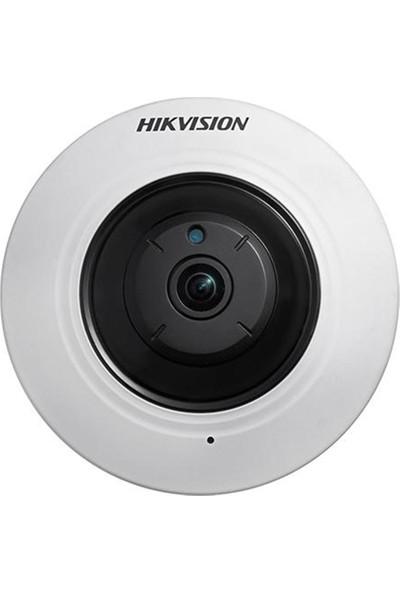 Haıkon DS-2CD2955FWD-IS 5.0 MP 1.05 mm m12 Balıkgözü Panoramik IR Dome IP Kamera