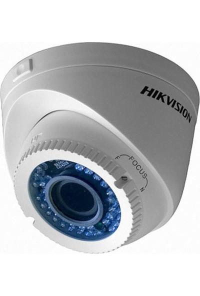 Haıkon DS-2CE56C0T-VFIR3F 1.0 MP 2.8 - 12 mm Ayarlanabilir 720p HD TVI 4 in 1 IR Dome Kamera