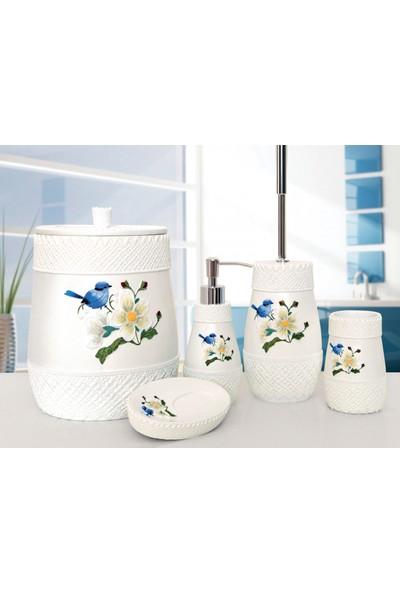 İrya Home Bird 5 Prç Banyo Seti