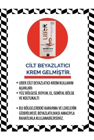 Uber Whitening Cream Beyazlatıcı Krem 100Ml