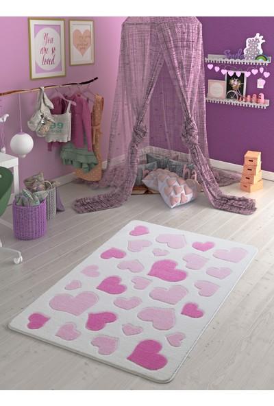 Confetti Sweet Love 100X150 Pembe Oymalı