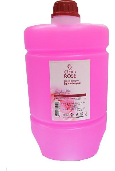 Clean Rose Kalıcı Gül Kolonyası (5000 ml)