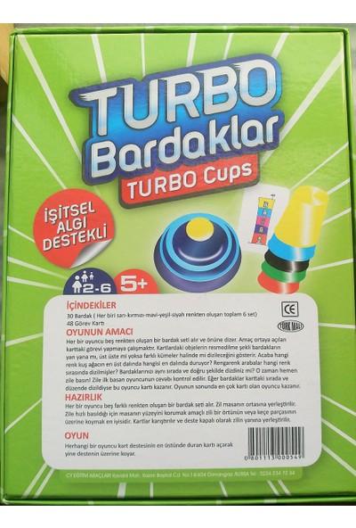 Turbo Bardaklar - İşitsel Algı Destekli (Hızlı Bardaklar - Pratik Bardaklar)