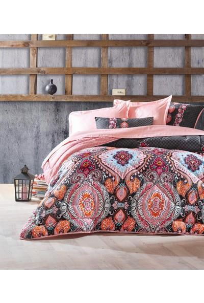 Cotton Box Çift Kişilik Pamuk Saten Uyku Seti Luisa Pudra