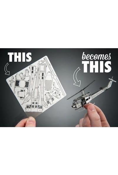 3D Lazer Kesim Metal Maket Köprü