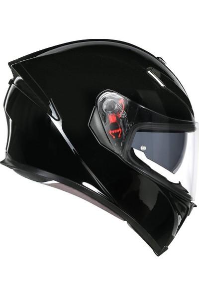 Agv K5 S Solid Siyah Kask - Pinlock Dahil