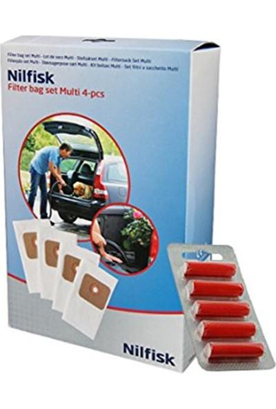 Nilfisk Multi 20 -22 Serisi 4'Lü Toz Torbası