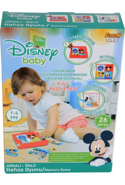 Furkan Toys Disney Baby Hafıza Oyunu