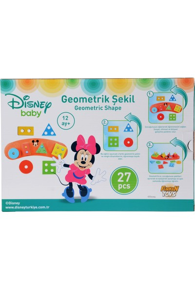 Furkan Toys Disney Baby Geometrik Şekiller