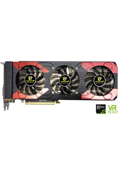 Manli Nvidia GeForce GTX 1070 Ti 8GB 256Bit GDDR5 (DX12) PCI-E 3.0 Ekran Kartı (NGTX1070TIG5RGHDPPP)