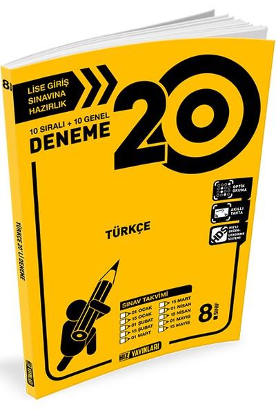 Hız 8. Sınıf Lgs Türkçe 20 Deneme