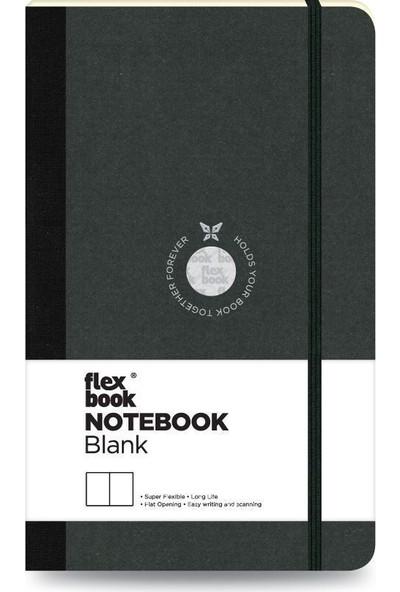 FlexBook 4 Esnek Not Defteri 13x21 cm Siyah Şeritli Çizgisiz