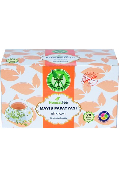 Tabiat Market Mayıs Papatyası Bitki Çayı 20 Süzen Poşet