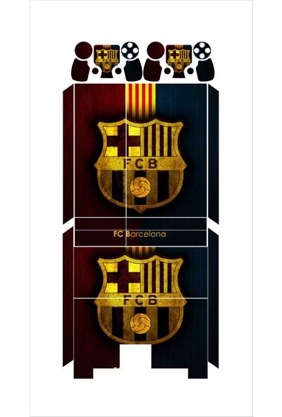 StickerMarket PS4 Fat Barcelona Sticker Seti