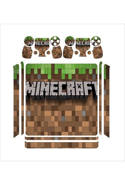 StickerMarket PS4 Slim Minecraft Daniel Sticker Seti