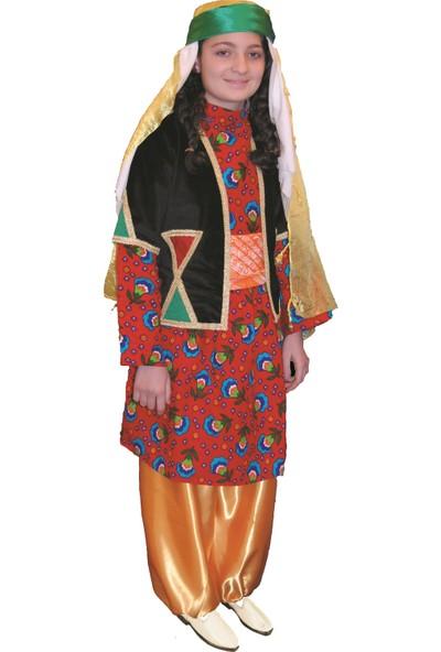 Köylü Pazarı Diyarbakır Yöresi Kız Kıyafeti Kostümü