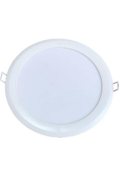 Philips 13W Slim Kasa Led Yuv. Tavan Armatürü Q175Mm Delik Çapı 6500K Bembeyaz Işık