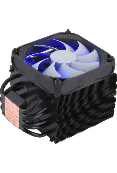 FSP Windale 6 AC601 Alüminyum 120mm Mavi Ledli İşlemci Fanı
