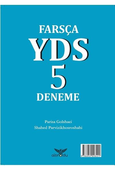 Farsça Yds 5 Deneme - Paris Golshae