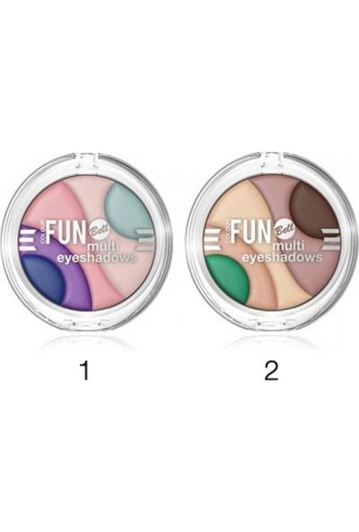 Bell Colour Fun Multi Eyeshadows Göz Farı 02