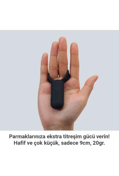 TENGA SVR Siyah Smart Vibe Ring (Çiftlere Özel Şarjlı Titreşim Halkası) TSV-001