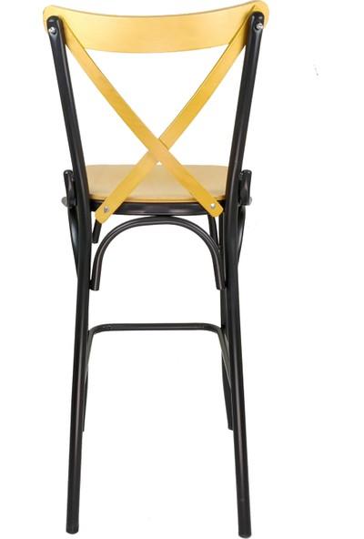 Mobilyanoktası Tonet Bar Sandalyesi Bar Taburesi Mutfak Sandalyesi