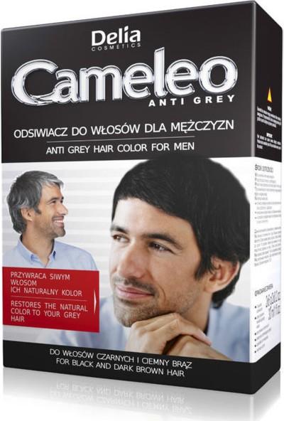 Delia Cameleo Men Anti Grey Hair Color Brown-Black