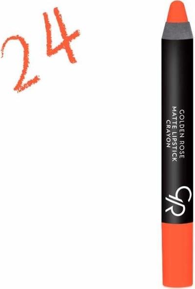 Golden Rose Matte Lipstick Crayon No:24