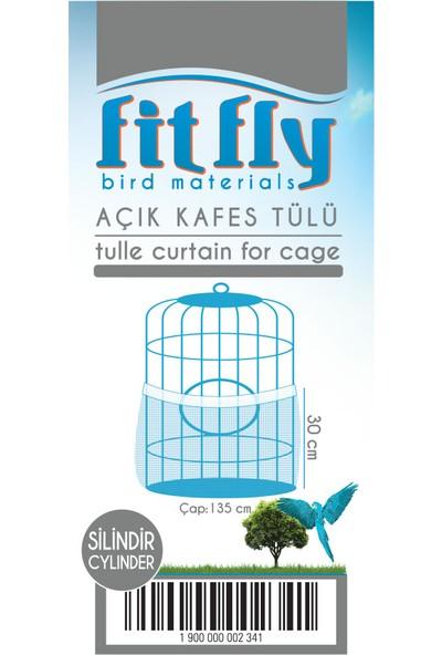 Fit Fly Açık Kafes Tülü Silindir