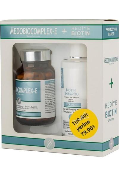 Medobiocomplex-E 60 Kapsül Biotin Şampuan Hediyeli