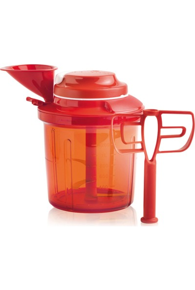 Tupperware Ekstra Şef Kırmızı Rondo