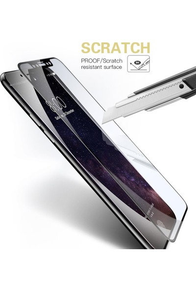 Buff İphone X 5D Glass Cam Ekran Koruyucu